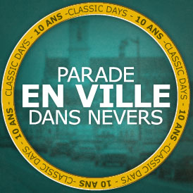 PARADE EN VILLE DANS NEVERS