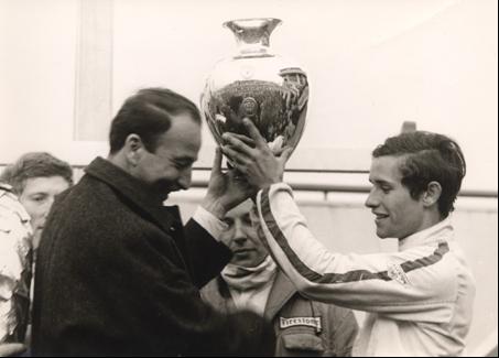 Jacky ICKX - Championnat d'Europe de Formule 2 (1967)